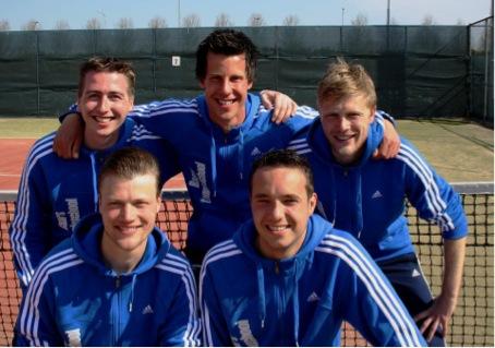 Trainers Baars Tennisschool 2013