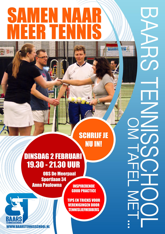 Samen naar meer tennis - 2 februari