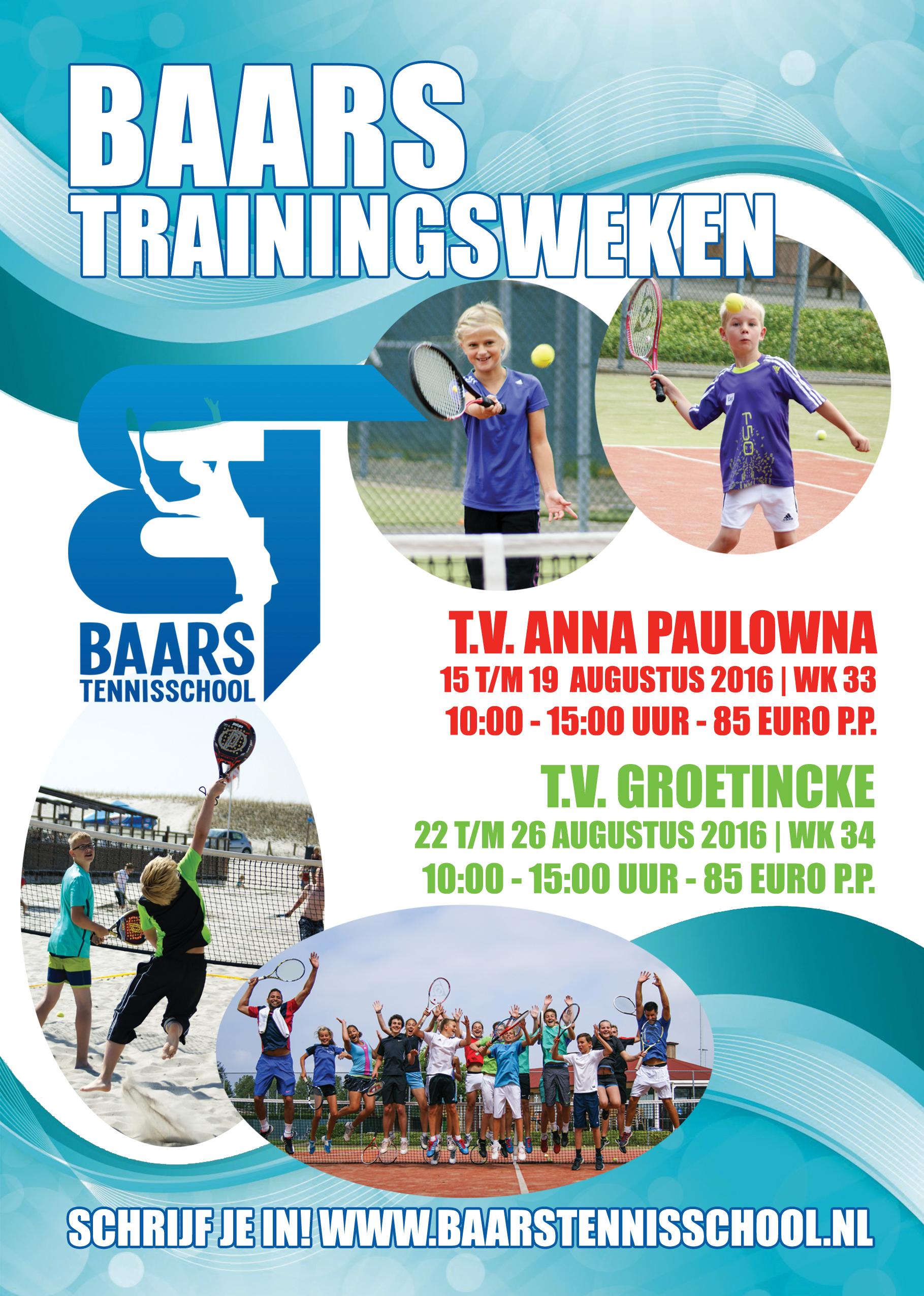 Baars Trainingsweken 2016