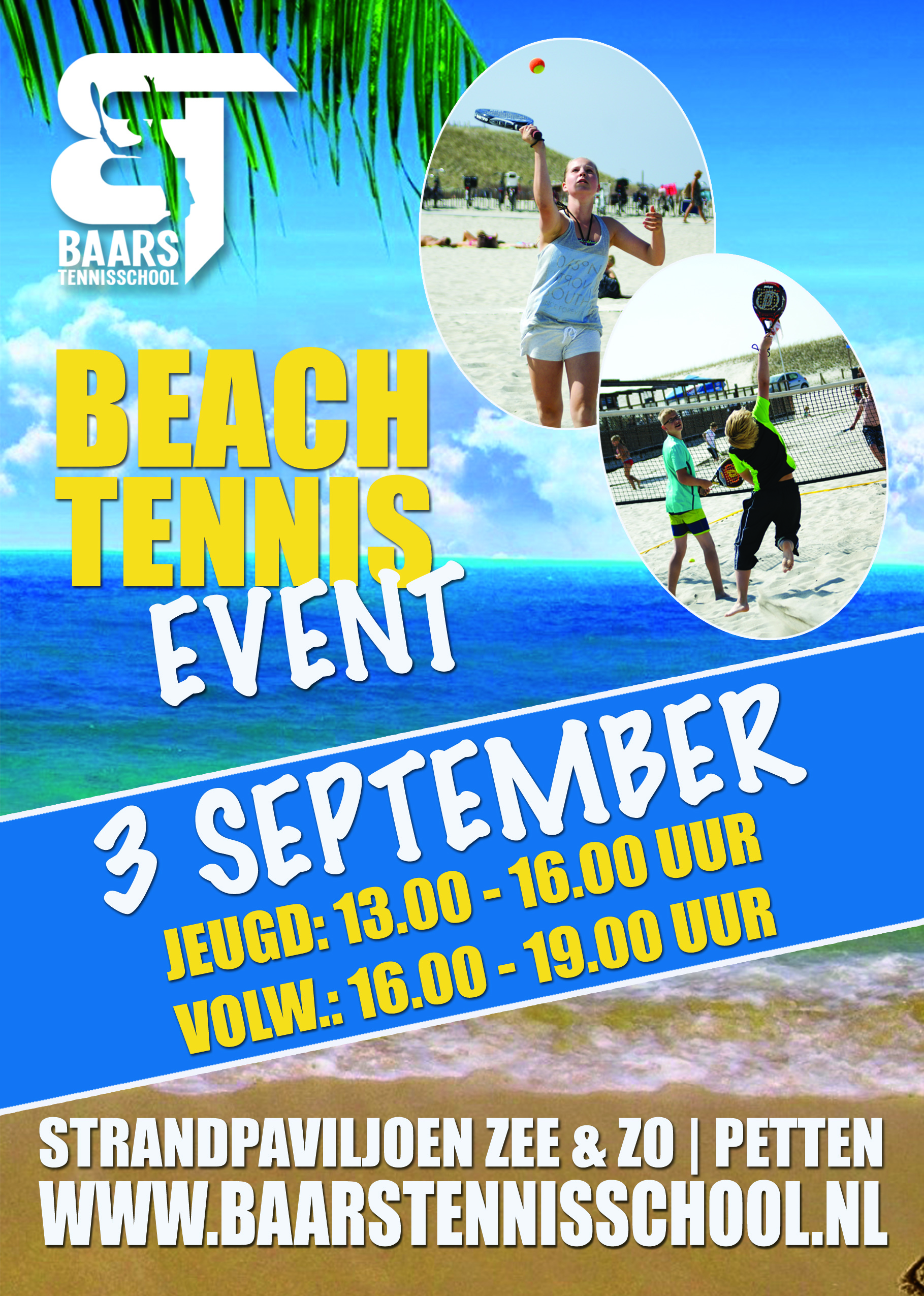 Beach Tennis Event Baars Tennisschool 2016