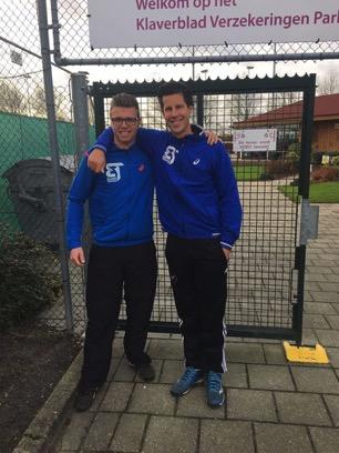 Nieuwe trainer Sven Draper