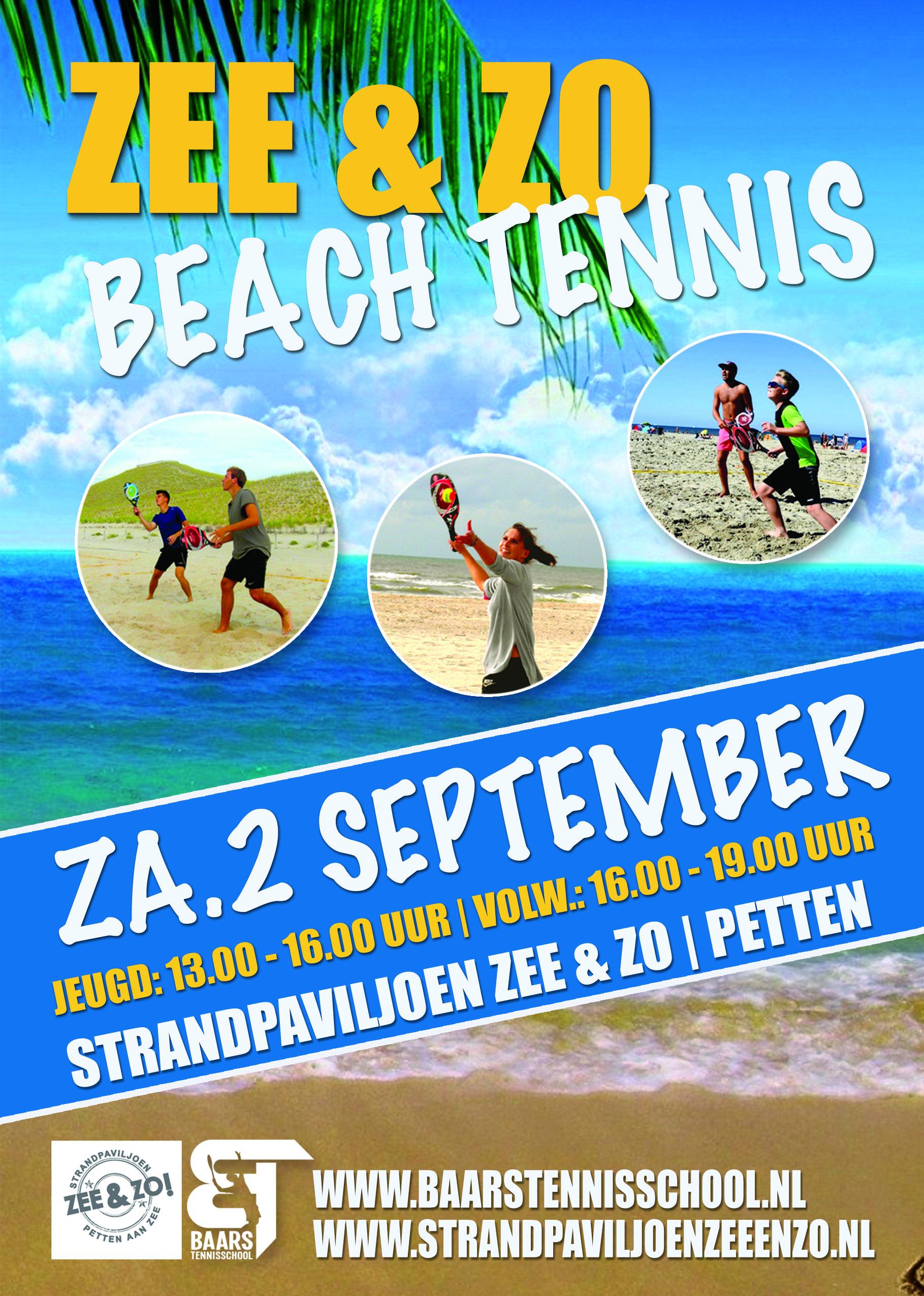 Zee & Zo Beach Tennis Event